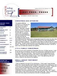 Page 1- Frontpage DecJan FPP 2014