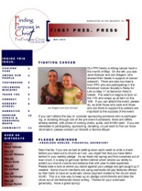 Page 1- Frontpage May FPP 2014