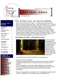 Page 1- Frontpage September FPP 2014