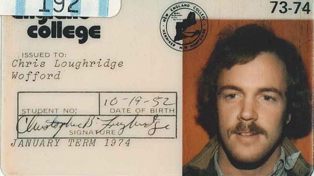 Chris Loughridge College ID-620