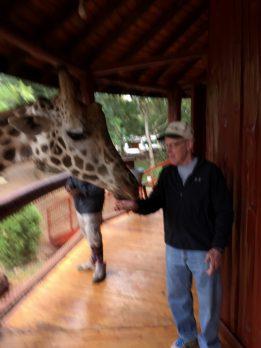 Chris and Giraffe
