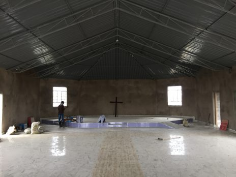 Olosirkon Church Interior