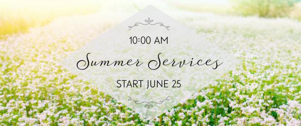 Summer Services 2017