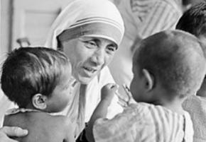 Mother Teresa's Cupboard